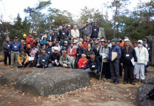 方位岩磐座 (第2回歴史探訪会 2012年1月7日)